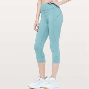 "Lululemon In Movement Crop *Everlux 19"" leggings"
